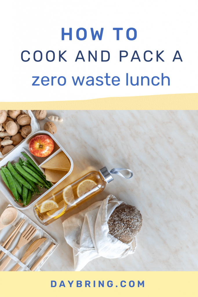 how to cook and pack a zero waste lunch